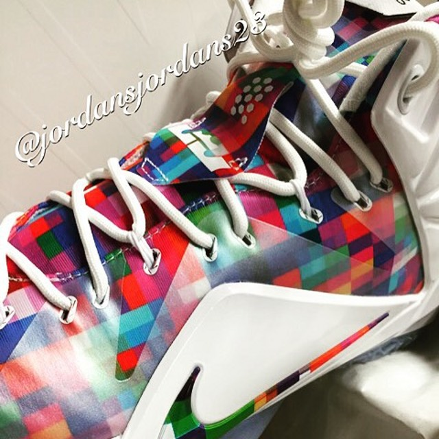 big sale da0e4 59af7 ... LeBron 12 EXT Prism Thats Really Another Fruity Pebbles Show ...