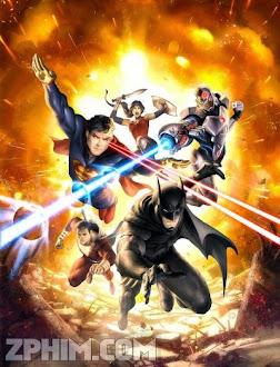 Liên Minh Công Lý: Chiến Tranh - Justice League: War (2014) Poster