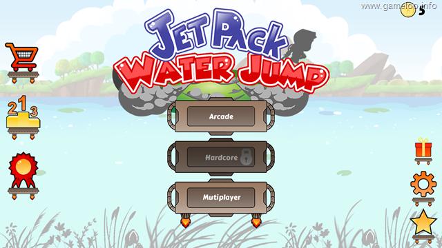 Jetpack Water Jump