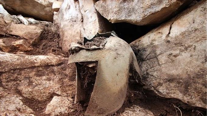 Κράνος αρχαίου Έλληνα πολεμιστή του 7ου αι. π.Χ. ανακαλύφθηκε στην Κροατία (φωτογραφίες)