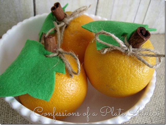 CONFESSIONS OF A PLATE ADDICT Easy Pumpkins from Oranges