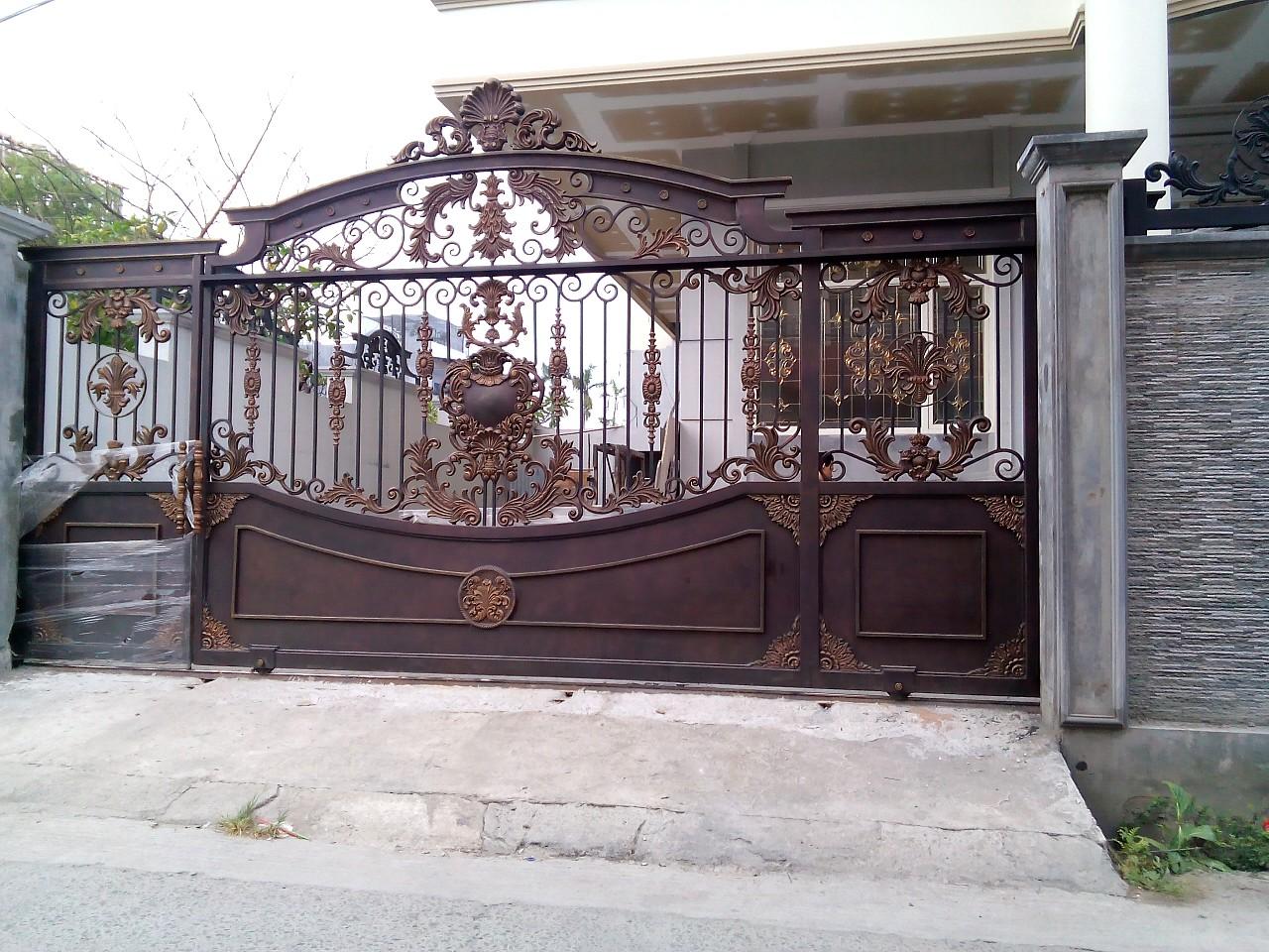 Model Pintu Gerbang Klasik