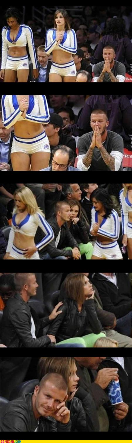 David Beckham Has Wandering Eyes:celebrities0