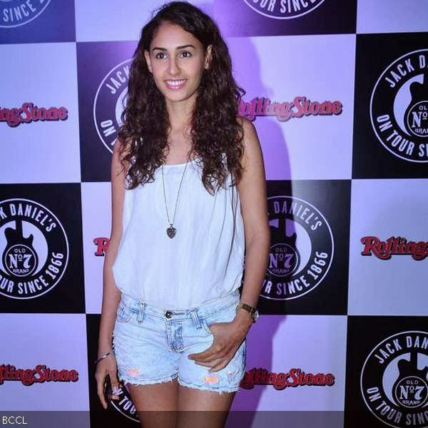 Hasleen Kaur during Rolling Stone awards, held in Mumbai. (Pic: Viral Bhayani)<br /> <br />