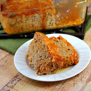 Slow Cooker Chicken Parmigiana Meatloaf.