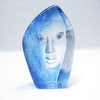 Mats Johnsson Glass Figure