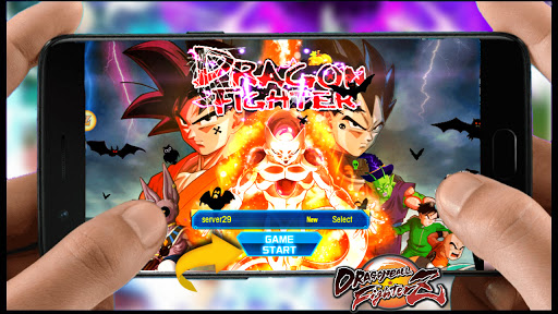 BOMBA LANÇOU ! DRAGON BALL Z FIGHTERZ MOBILE PARA ANDROID Fury fighter: Z APK + DOWNLOAD