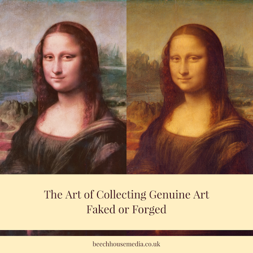 the art of collecting genuine art fake or forged