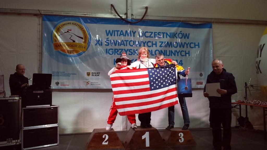 Pierwszy złoty medal Krystyny Kacperczyk w NW
