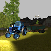 Night Tractor Parking 3D