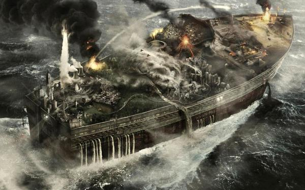 Explosion On The Ship, Fiction 2