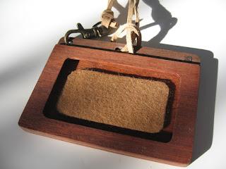 木のパスケース(ネームホルダー) wood pass case