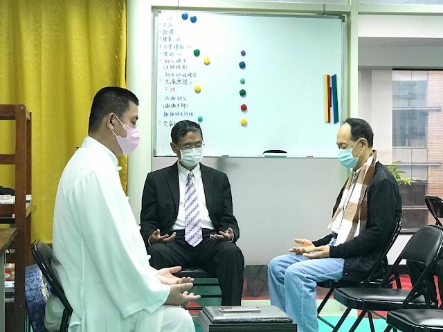 2021/01/28 ◎萬真師父~元氣門台北分會義診調氣養生保健(五十二)◎