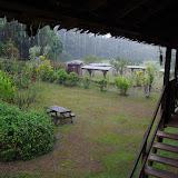 Pluie sur l'L'Auberge des Orpailleurs (RN2), 27 octobre 2012. Photo : J.-M. Gayman