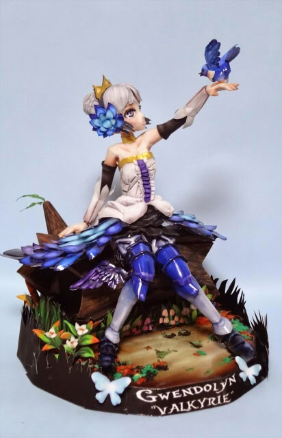 Odin Sphere Gwendolyn Papercraft