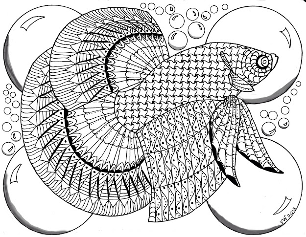 Top 10 Zentangle Doodle Art Coloring Pages Free