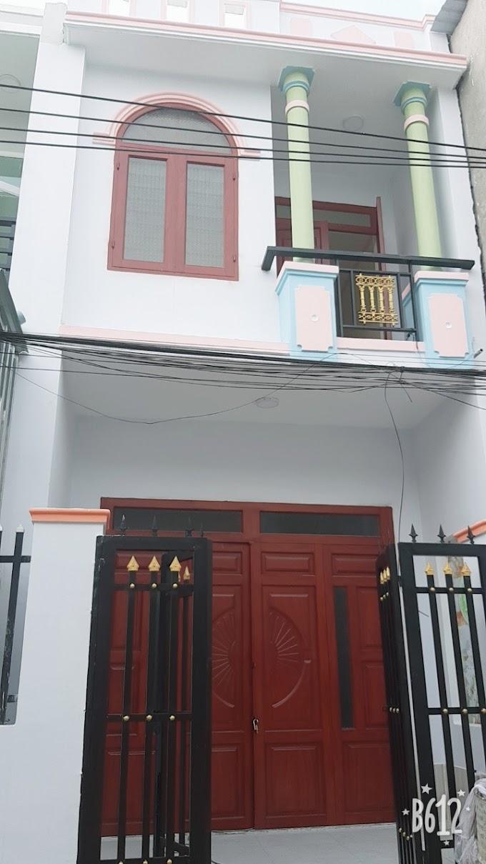 Cần bán căn nhà lầu trệt ở ngay Bình Chuẩn 20, Thuận An, Bình Dương. Giá chỉ 850tr
