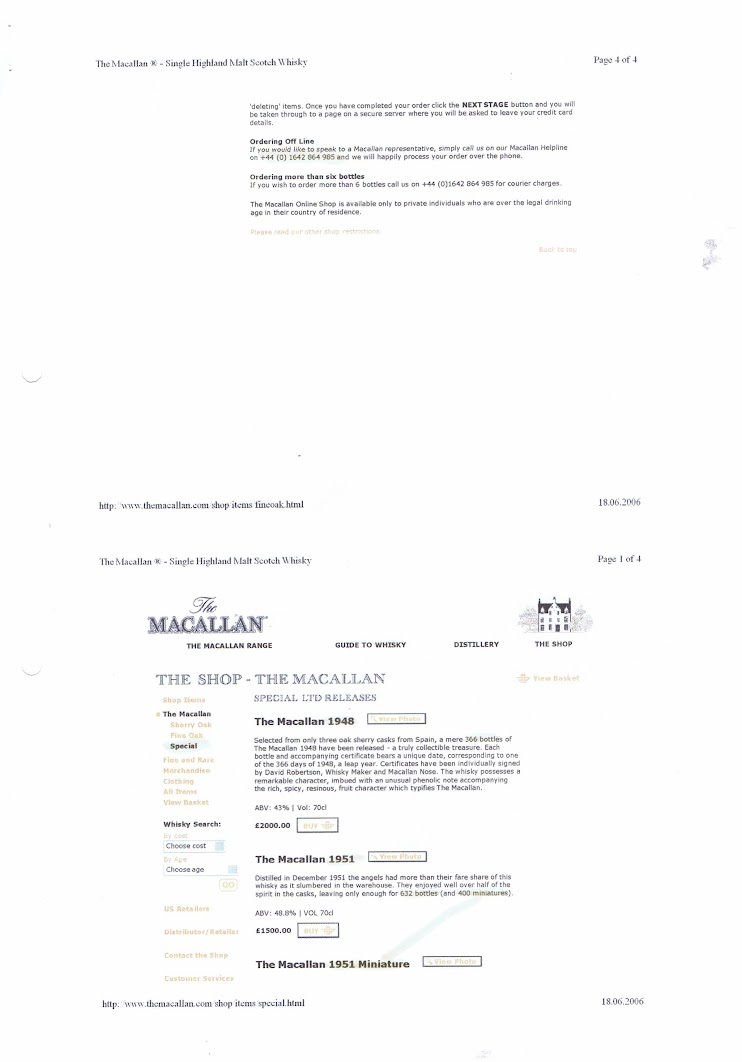 Macallan Webshop 2006 - Page 5