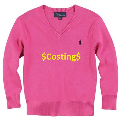 Sweater Costing