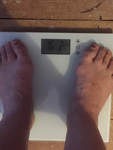 Wednesday Weigh In Week 8 Baby Steps Are Still Better Than