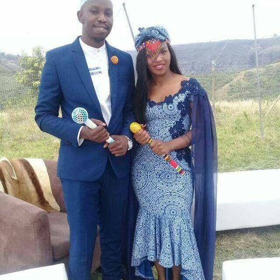 Traditional Shweshwe Wedding Dresses For Woman 2