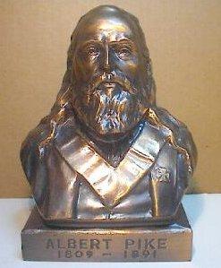 Albert Pike 1809 1891, Albert Pike
