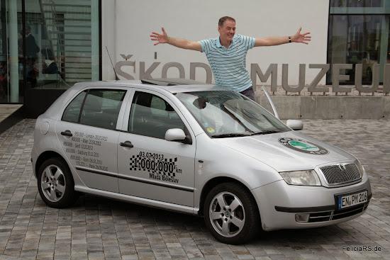Peter und sein 1.000.000Km Škoda Fabia
