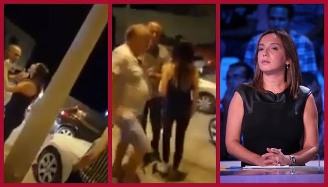 فيديو : مايا القصوري و زوجها في حالة سكر..   يثيران الفوضى في الطريق العام