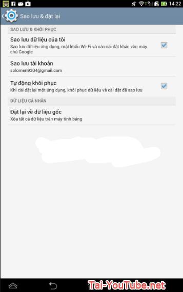 Hướng dẫn khôi phục cài đặt gốc cho hệ điều hành Android + Hình 10