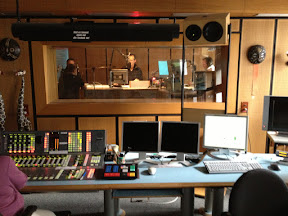 RBB Radio Station / Studio in Berlin