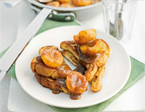 Apricot French toast