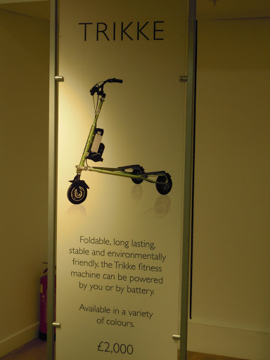 Trikke for sale at Harrods. From Best Museums in London and Beyond