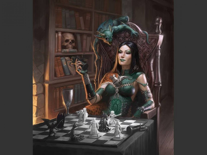 Dear Widow Maiden, Gothic