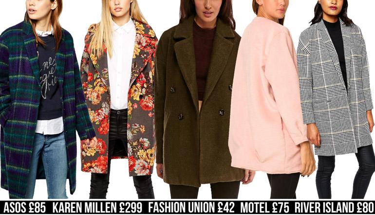 boyfriend fashion high street winter coats
