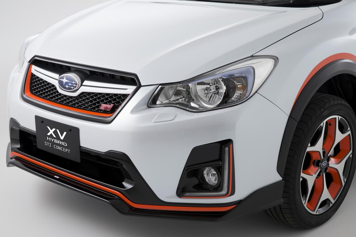 Subaru - Subaru XV Hybrid STI Concept