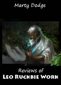 Cover of Marty Dodge's Book Reviews Of Leo Ruckbie Work