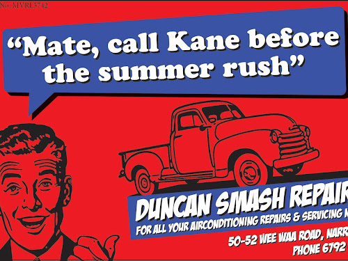 Back to the '60s: Duncan Smash Repairs