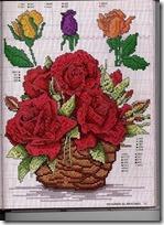 Muchos Patrones De Flores En Punto De Cruz Gratis Punto De Cruz