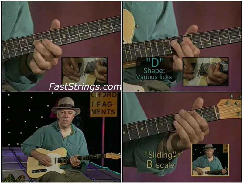 Fred Sokolow - Fretboard Roadmaps For Guitar (DVD)