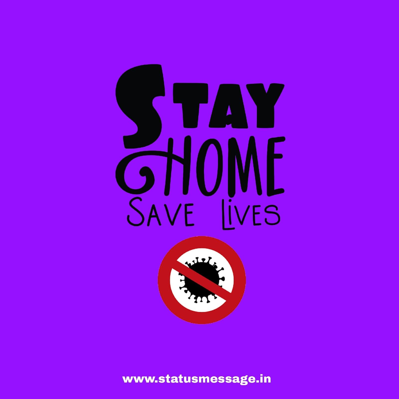 stay home stay safe WhatsApp dp image , lockdown dp, Quarantine