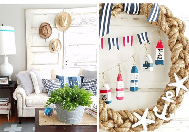 Summer Home Tour - Coastal Decor