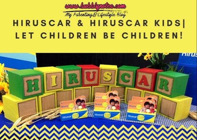 HIRUSCAR & HIRUSCAR KIDS_LET CHILDREN BE CHILDREN
