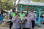 Polda Banten dan TNI, Satgas Covid-19 Sosialisasi Instruksi Gubernur di Tempat Wisata