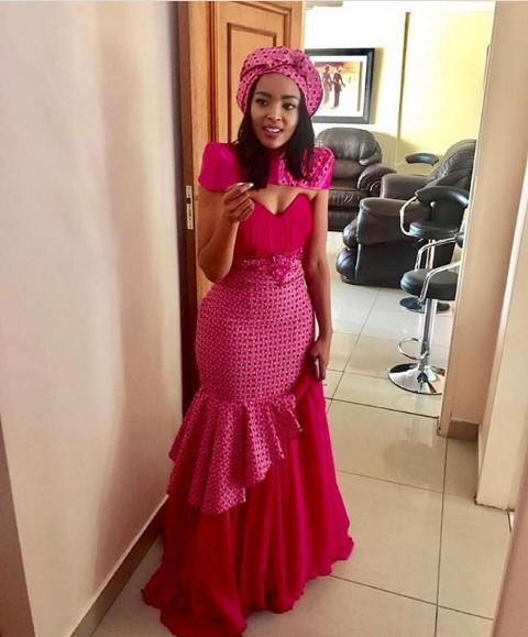 LATEST SHWESHWE SESHOESHOE DRESSES 2018 2019