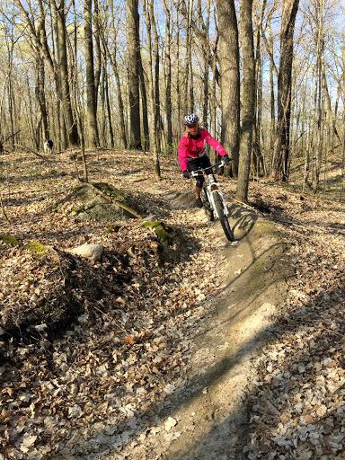 "Jonell on ""Hudson's Hula"" trail"