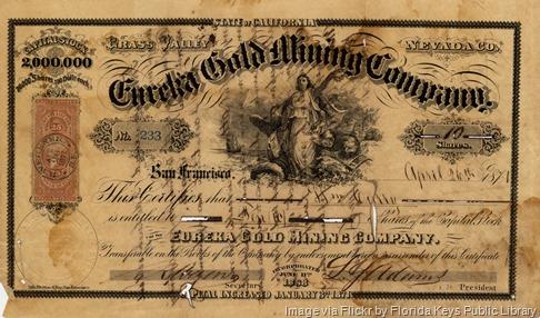 goldmine-stock-certificate