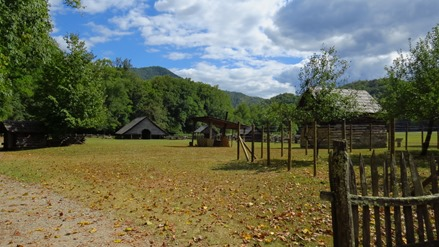 Oconaluftee Visitor Center, Cherokee, NC