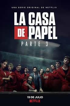 capa La casa de papel 3ª Temporada