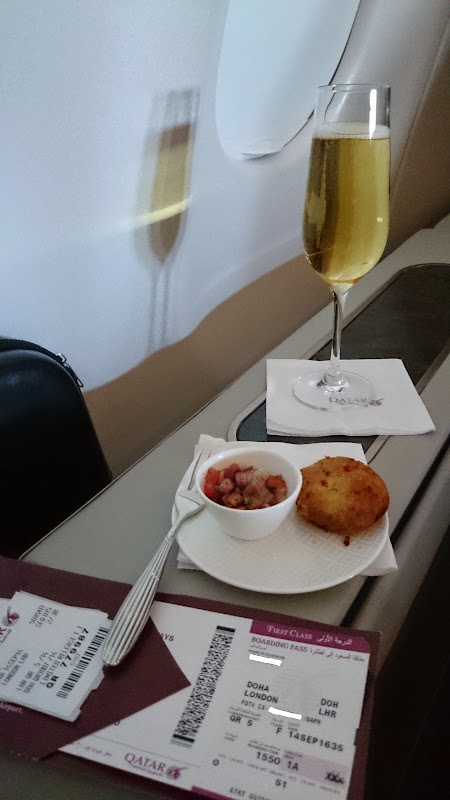 DSC 5046 1 - REVIEW - Qatar: First Class - Doha to London (A330)