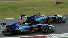 Felipe Massa & Giancarlo Fishichella, Sauber C23